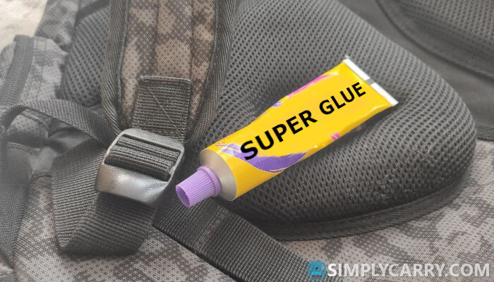 Replacing a Backpack Strap Adjuster with super glue