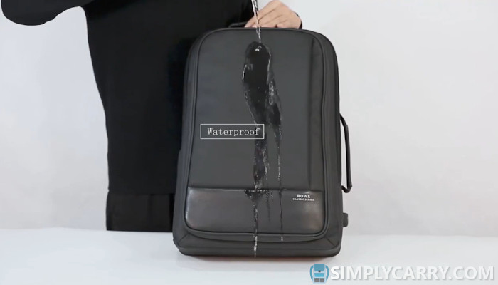 Best backpack with water resistance feature