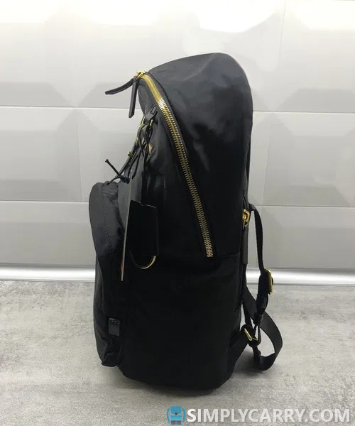 backpack with hidden pockets.